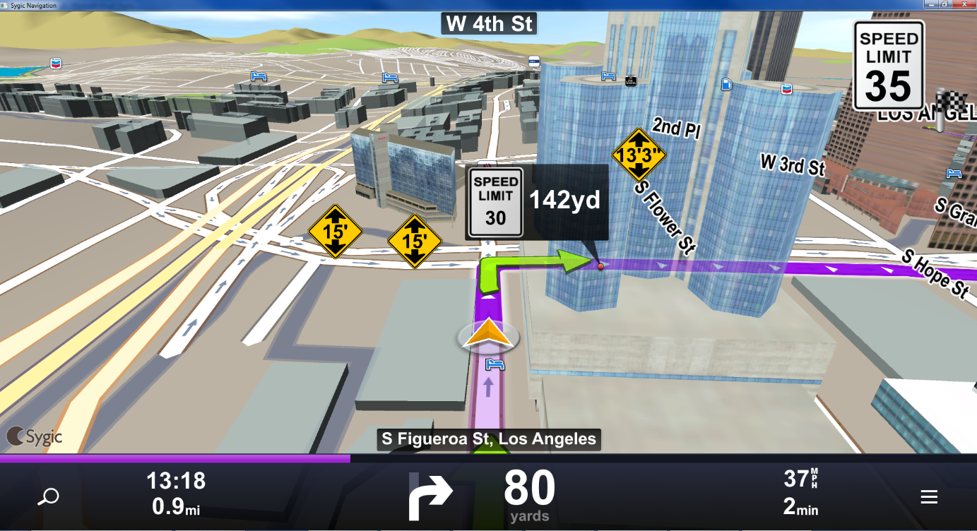 Sygic Truck Navigation With Na Maps And Bus Related Routing Sygic - Sygic-us-maps