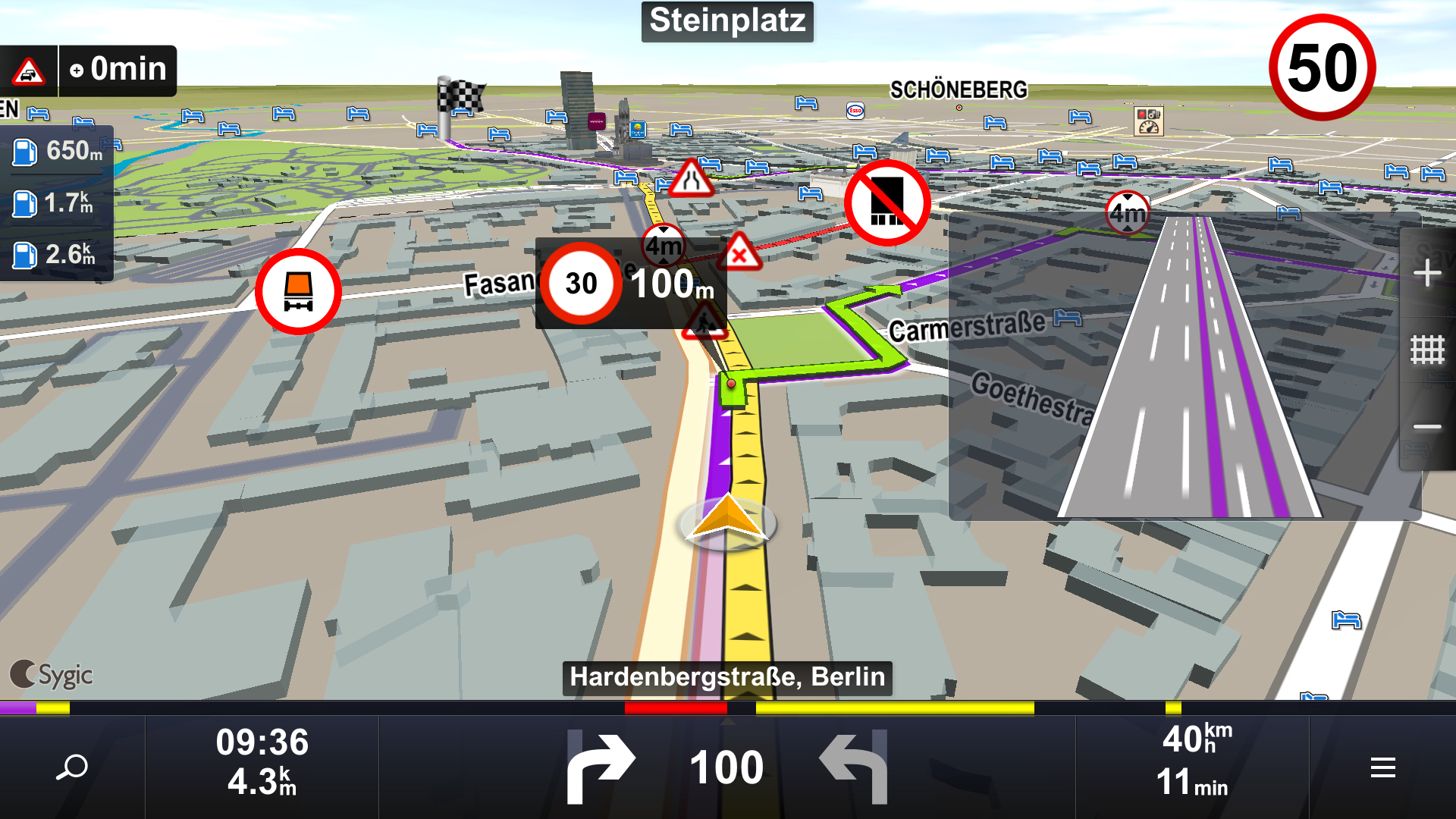 Sygic Truck Navigation For Android Now Available In Mea