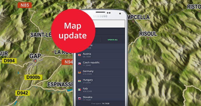 Update your maps before summer vacations - Sygic | Bringing