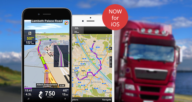 Sygic Launches iOS Version of Favorite GPS Navigation of