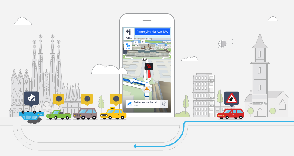 Real-time Traffic Information – How Does it Work? - Sygic | Bringing