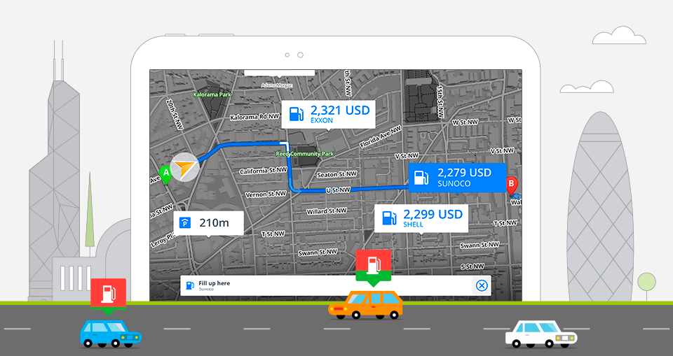Nearest Fuel Station >> Compare Fuel Prices On Your Route With Sygic Gps Navigation