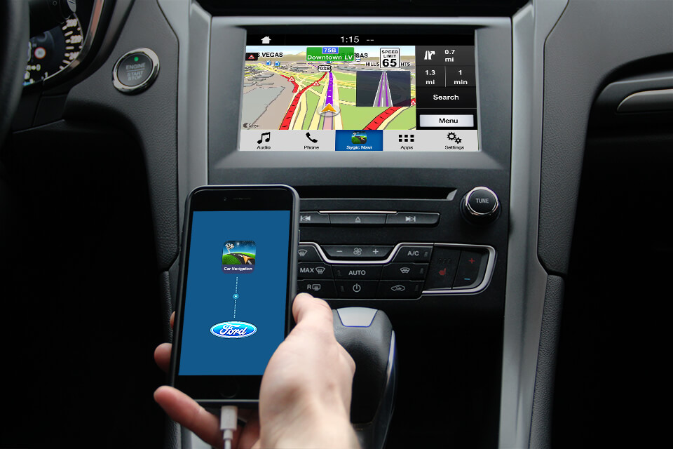 Connect Sygic Car Navigation With New Ford S Sync 3 Sygic Bringing Life To Maps
