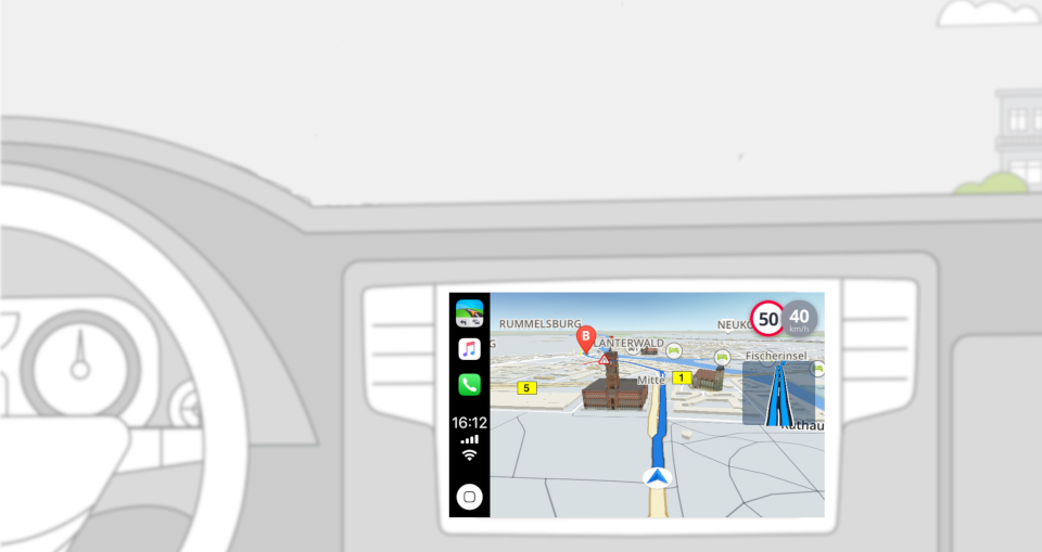 We Took Sygic Carplay Navigation for a Ride and Show Off Its