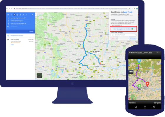 Sygic and Google Maps now work together - Sygic | Bringing